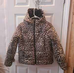 Cute Leopard Puffer New!